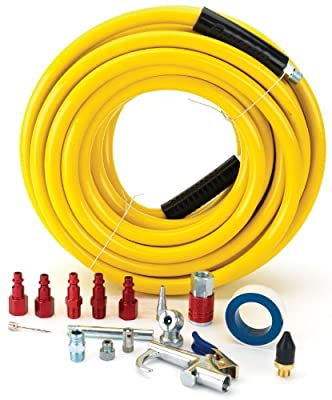 Snap-On 870218 PVC Air Hose with Accessories, 3/8-Inch x 50-Feet