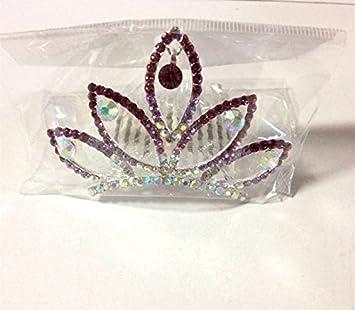 Amazon.com: Cantidad: 1 diadema de tiara de diamante para ...