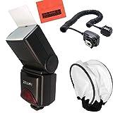 690EX Pro Series Digital DSLR Dedicated Camera Flash Starter Kit for Canon Digital EOS Rebel SL1, T1i, T2i, T3, T3i, T4i, T5, T5i EOS 60D, EOS 70D, 50D, 40D, 30D, EOS 5D, EOS 5D Mark III, EOS 6D, EOS 7D, EOS 7D Mark II, EOS-M Digital SLR Cameras