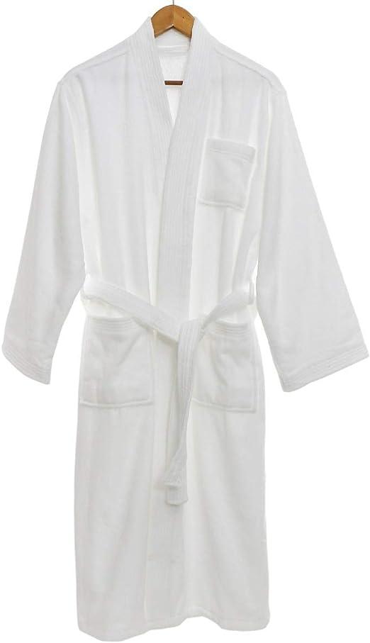 QXPORV - Albornoz para Hombre y Mujer, 100% algodón, Ideal para ...