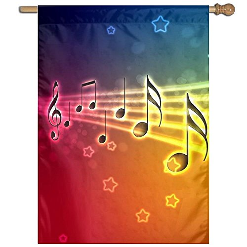 Glad Grace Musical Note Music Mini Seasonal House