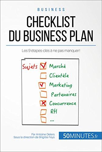 amazon com checklist du business plan les 9 étapes clés à ne pas