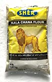 Sher Kala Chana Besan (Desi Whole Chickpeas Flour) - 4 lbs