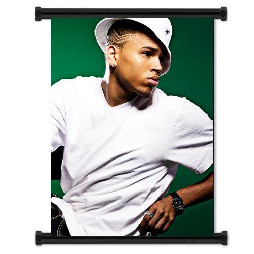 Chris Brown Artist Wall Scroll Poster