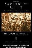 Saving the City, Malcolm Schofield, 0415184673