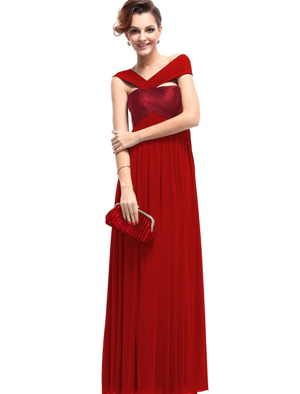 Ever Pretty Women's Fabulous Pleat Empire Long Formal Party Evening Dress 09464
