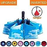Best Mini Umbrellas - Fidus Inverted Reverse Sun&Rain Car Umbrella Large Windproof Review