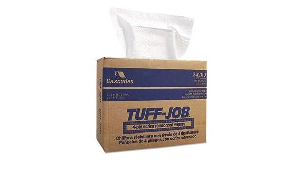 Amazon.com: IFC34200 - Tuff-Job Scrim Reinforced Wipers in Pop-Out Dispenser: Home & Kitchen