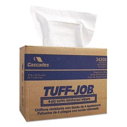 IFC34200 - Tuff-Job Scrim Reinforced Wipers in Pop-Out Dispenser