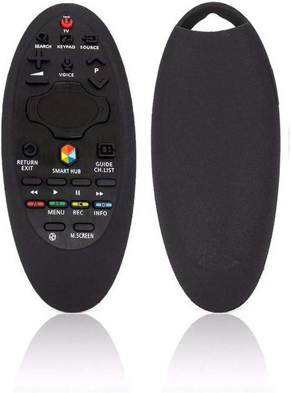 Smart TV Remote Case Funda Protectora de Silicona con Control Remoto para Samsung Smart TV BN59-01185F / BN94-07557A / 07469 / UA55H6400J (Black): Amazon.es: Electrónica