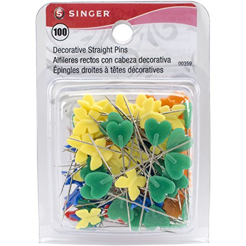 Price comparison product image Singer Decorative Head Straight Pins, 100-Count