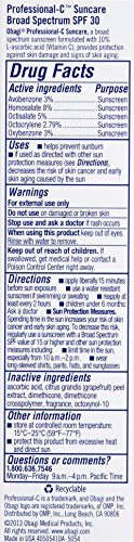 Obagi Professional-C Suncare Broad Spectrum SPF 30 Sunscreen, 1.7 oz