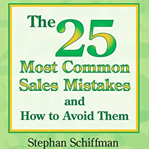 The 25 Most Common Sales Mistakes and How to Avoid Them Audiobook