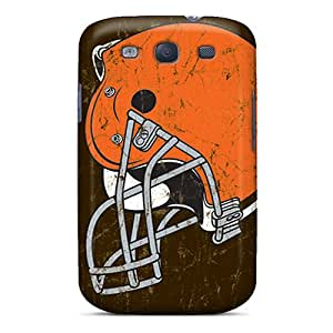 Galaxy High Quality Tpu Case/ Cleveland Browns AFu8739Nsvs Case Cover For Galaxy S3