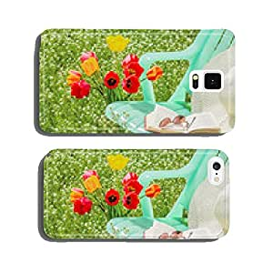Relax in the garden on a spring day cell phone cover case iPhone6