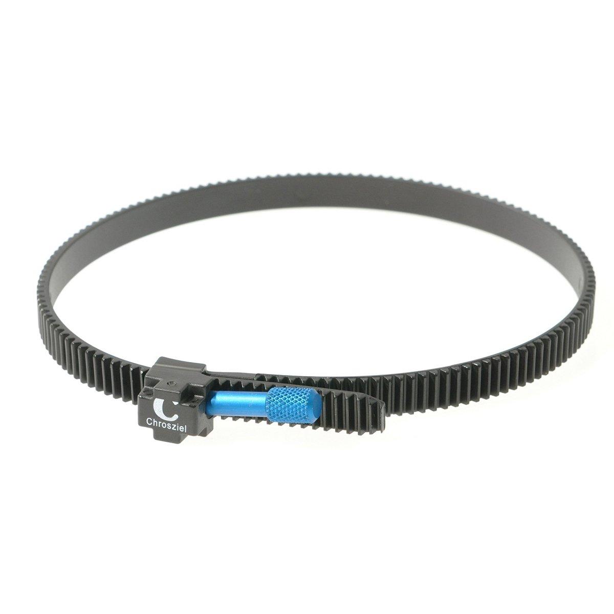 CHROSZIEL C-206-30 Flexi-Gear for DSLR Type Lenses of 60 to 120mm Diameter (Black)