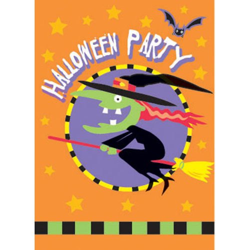 Trick or Treat Halloween Invitations, 8ct