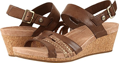 UGG Women's Serinda Wedge Sandal, Mole, 8.5 US/8.5 B (Ugg Women Sandals)