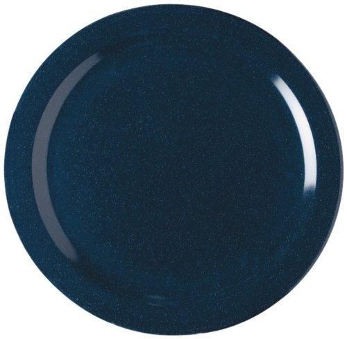 Carlisle 4350035 Dallas Ware Melamine Dinner Plate, 10.20'' Dia. x 0.84'' H, Cafe Blue (Case of 48) by Carlisle (Image #2)