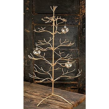 Amazon.com: Gold Wire Ornament Tree Display by The