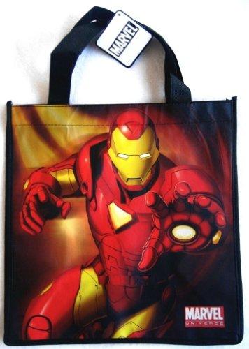 Iron Man Marvel Universe Tote Bag / Reusable Grocery - Iron Partner Man