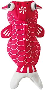 Pet Supplies Soft Lovely Pet Dog Puppy Clothes Coat Lovely Red Goldfish Costume for Spring Autumn