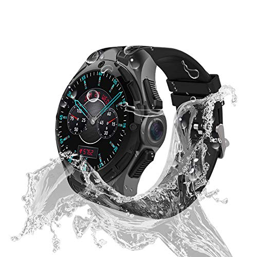 AllCall Waterproof smartwatch Android IP68 Professional Waterproof 3G Smartwatch Phone 2GB RAM 16GB ROM 2.0MP Camera GPS Sports Fitness Tracker 460mAh Battery WiFi Support