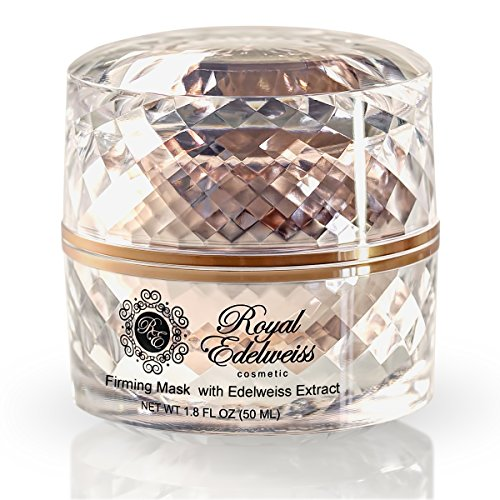 ROYAL EDELWEISS SKINCARE ROSE GOLD FIRMING MASK W/ EDELWEISS FLOWER EXTRACT (1.8OZ)