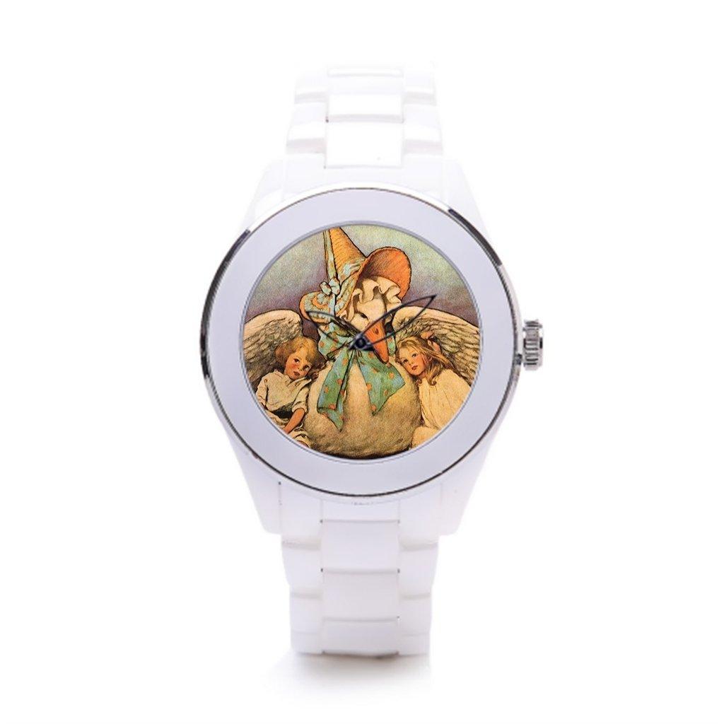 hiyane correa de cerámica relojes Vintage madre ganso ...