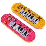 Matoen keybord for Kids 8 Keys Piano Developmental Toy Plastic Early Educational Learning Toys Fun Playing Birthday Gift