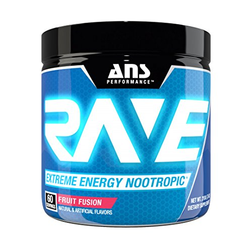 Extreme Fruit (ANS Performance RAVE Extreme Energy Nootropic Fruit Fusion 60/SERV)