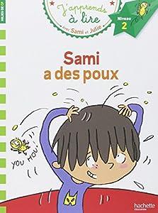 """Afficher """"J'apprends à lire avec Sami et Julie<br /> Sami a des poux"""""""