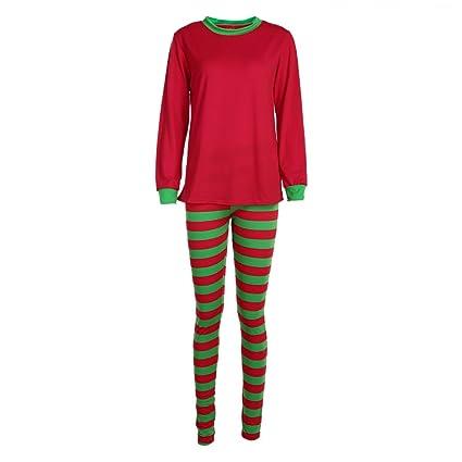 95f73820bb Buy Rrimin Christmas Gift XMAS Family Pajamas Set Sleepwear Nightwear  Pyjamas Gift (Women)(M) Online at Low Prices in India - Amazon.in