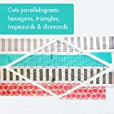Creative Grids 60 Degree Diamond Ruler Quilting