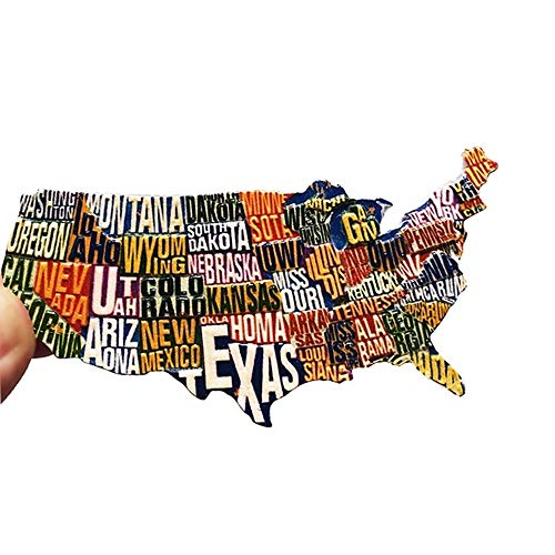 agnets United States Map Refrigerator Magnets Office Magnets ()