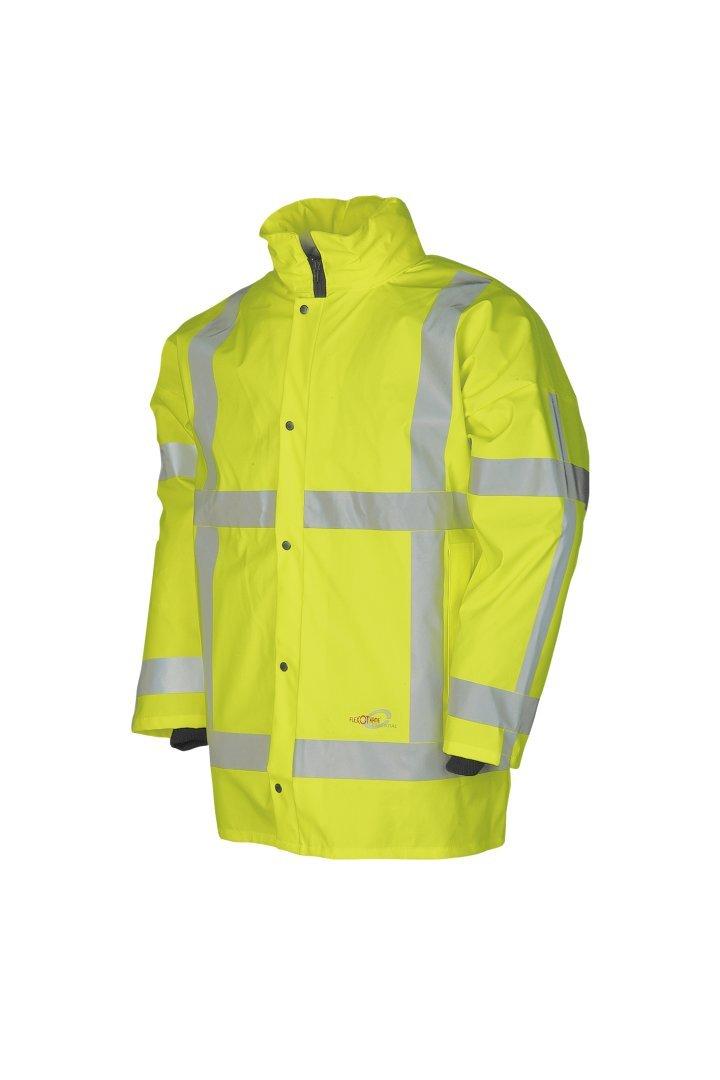 Orange SIOEN 198AA2X98FC1M Monoray Hi-Vis Rain Jacket Medium