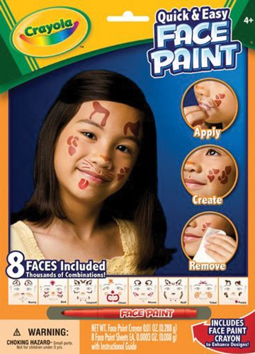 Crayola Face Painting Kit Neutral