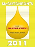 McCutcheon's 2011 Emulsifiers and Detergents : International Edition, , 1933430451