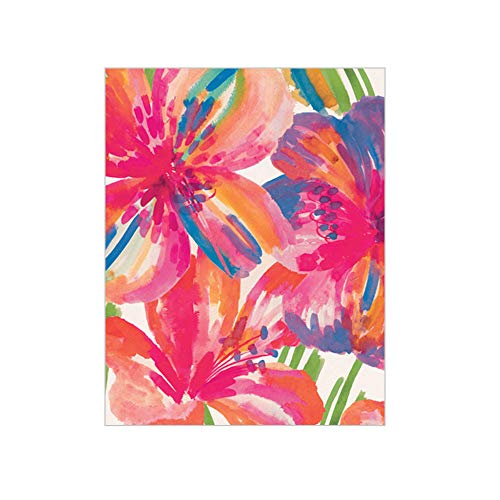 Caspari Floral Pop Gift Enclosure Cards, 12 Mini Cards & Envelopes ()