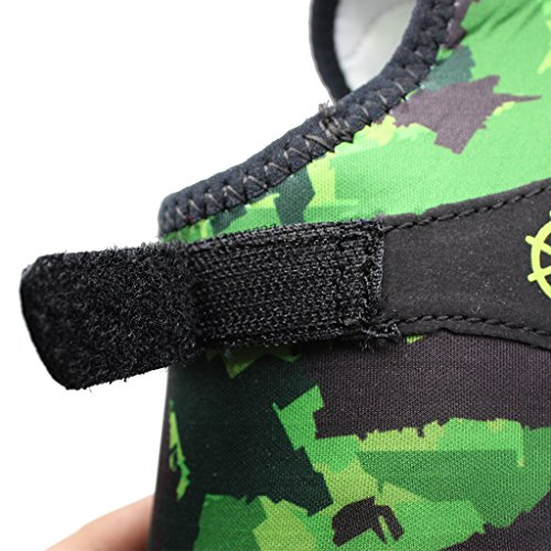 IVAO Women Men Aqua Socks Quick Drying Unisex Barefoot Water Shoes for Beach Swimming Surfing Yoga Camouflage vbmmBG9