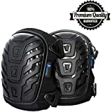 Larosa Protective Knee Pads - Knee Protector for Gardening, Cleaning, Flooring, Working, Construction - Comfortable Gel Cushion, Heavy Duty Foam Padding, Strong Straps & Adjustable Easy-Fix Clips