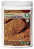 Naturevibe Botanicals Organic Fenugreek Seeds Whole (1 pound),...