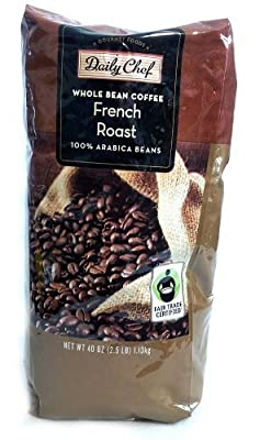 Daily Chef Whole Bean French Roast Coffee 2.5 lb. by Daily Chef