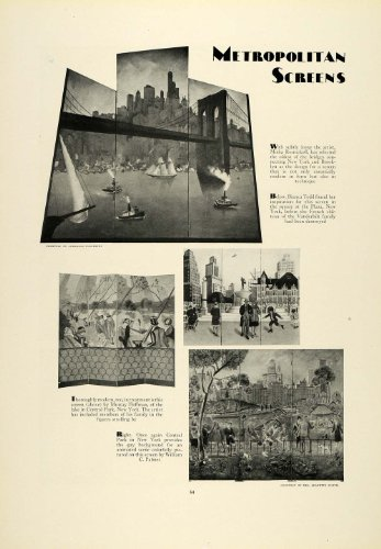 1930-print-metropolitan-room-partition-art-brooklyn-new-york-bridge-central-park-original-halftone-p