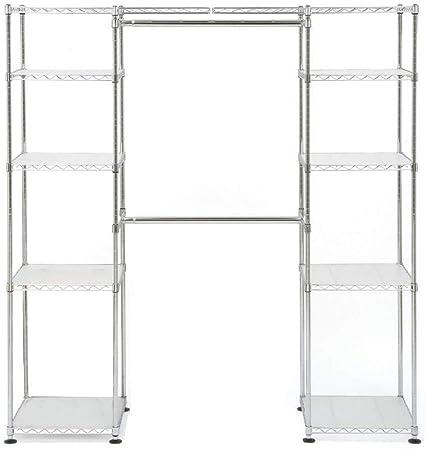 Merveilleux Seville Classics 14u0026quot; Deep Heavy Duty Steel Wire Expandable Closet  Organizer   Bedroom Space Saving