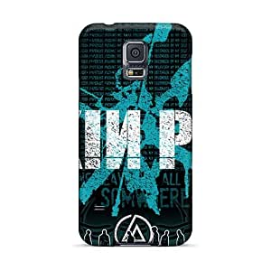 Shock Absorbent Cell-phone Hard Covers For Samsung Galaxy S5 With Support Your Personal Customized Fashion Linkin Park Series DannyLCHEUNG