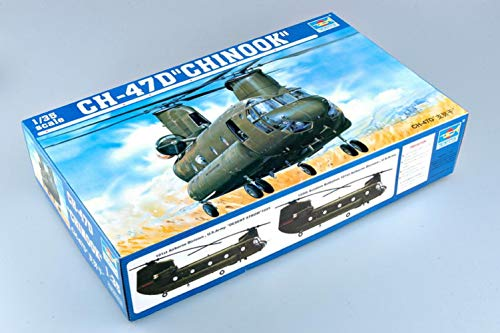 Trumpeter 05105 Helicopter CH-47D Chinook 1/35 Scale Plastic Model Kit