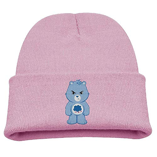 WHROOER Cartoon Angry Care Bears Warm Winter Hat Knit Beanie Skull Cap Cuff Beanie Hat Winter Hats Boys]()