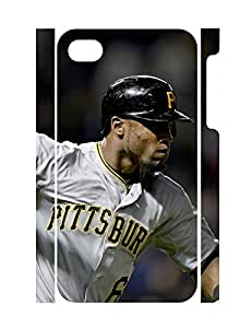 Classy Guy Pattern Customized High Impact Iphone 4 4S Phone Case