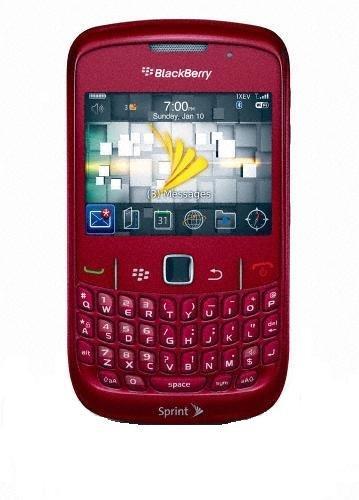 BlackBerry Curve 8530 Phone, Red (Sprint) ()